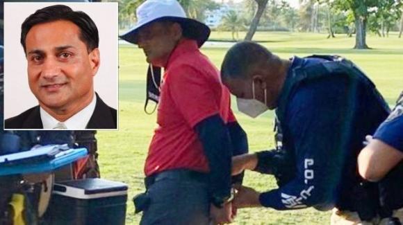 Cane ruba la pallina durante una partita di golf, uomo d'affari gli spara uccidendolo