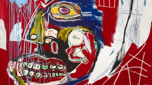 Un Basquiat venduto all'asta per 93 milioni