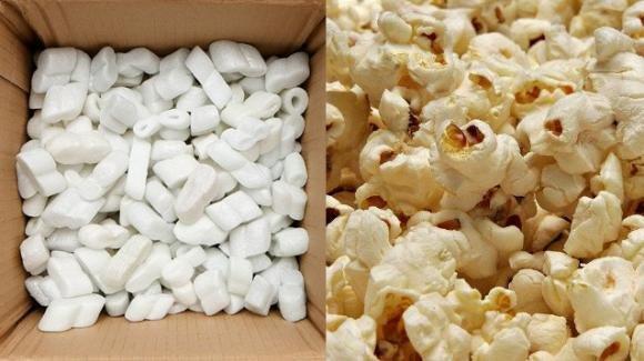Presto si potrà sostituire il polistirolo degli imballaggi grazie al popcorn