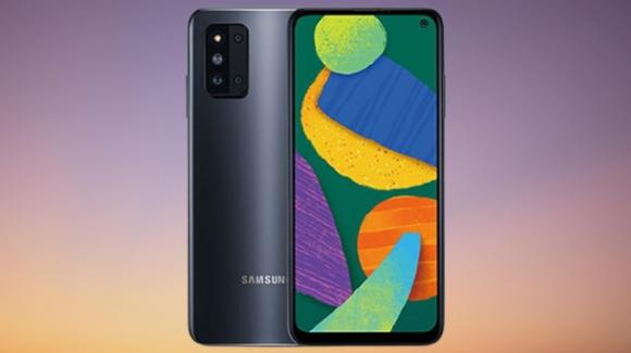Galaxy F52 5G: medio-gamma con 5G e fotocamera principale da 64 mpx
