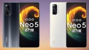 iQOO Neo 5 Vitality Edition: ufficiale il quasi top gamma per gamers