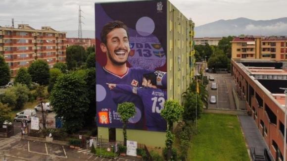 Firenze: inaugurato il murale dedicato a Davide Astori