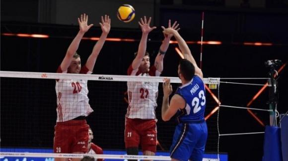 Nations League Volley: la Polonia vince 3-0 contro l'Italia