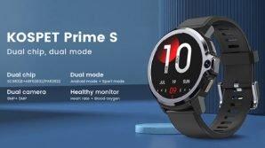 Kospet Prime S: ufficiale lo smartwatch con doppio chip che diventa sportwatch
