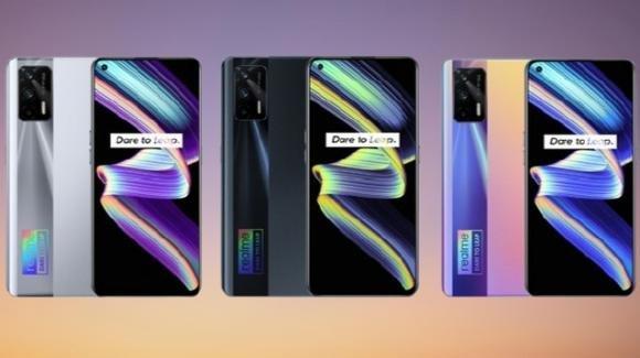 Realme X7 Max: ufficiale il medio-gamma 5G con audio Hi-Res