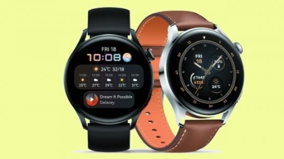 Huawei presenta i nuovi smartwatch Huawei Watch 3 e Watch 3 Pro