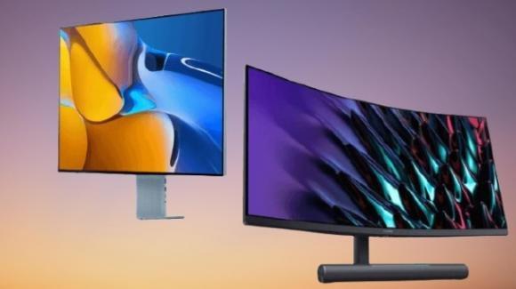 Huawei MateView e MateView GT: ufficiali i monitor per professionisti e gamers