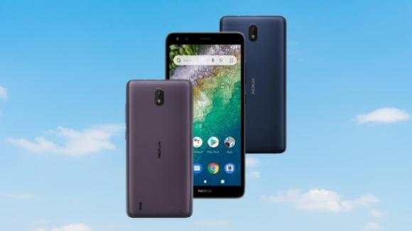 Nokia C01 Plus: all'esordio lo smartphone low cost con Android 11 in Go Edition