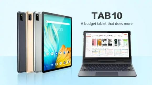 Blackview Tab 10: ecco il tablet premium con 4G, maxi batteria e Android 11
