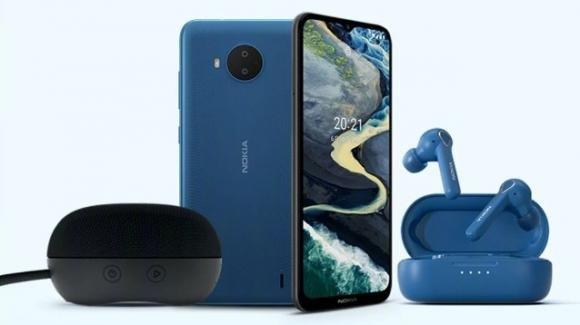 Nokia Event: ufficiali lo smartphone C20 Plus, gli auricolari BH-205 e lo speaker SP-101