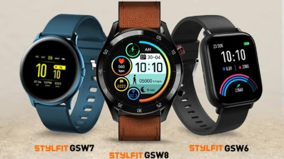 Gionee presenta un trittico di nuovi smartwatch della linea StylFit