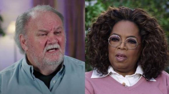 """Thomas Markle accusa Oprah Winfrey: """"Sta usando mia figlia"""""""