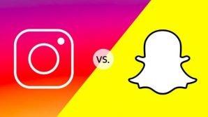 Snapchat vs Instagram: è scontro a suon di novità