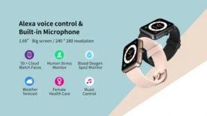CubotID206: ufficiale lo smartwatch low cost chic con Alexa