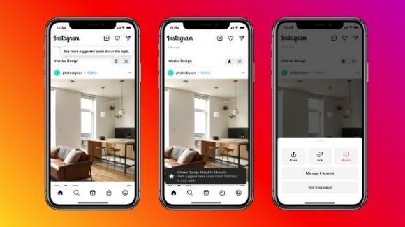 Instagram: test post suggeriti, rumors su temi, Live e supporto ai Creators