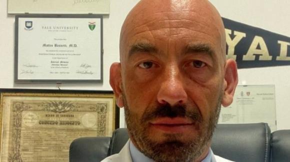 """Covid-19, Matteo Bassetti: """"Se non raggiungiamo 85% di immunizzati entro metà ottobre sono dolori"""""""