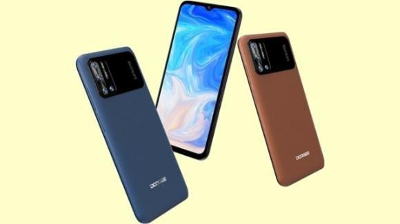 Doogee presenta l'N40 Pro: lo smartphone con batteria da 6380 mAh e display da 6,52 pollici