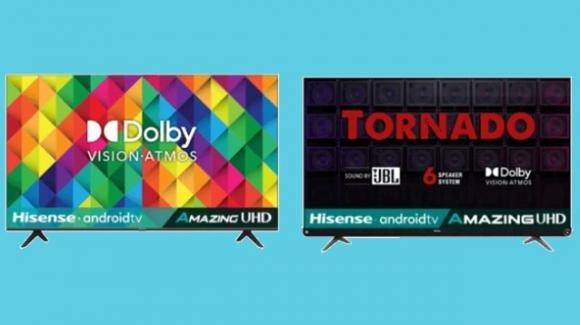 Hisense 70A71F e 65A73F: ufficiali le nuove Android TV con attenzione anche al sound