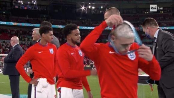 Euro 2020, giocatori inglesi rifiutano di indossare la medaglia al termine della finale con l'Italia