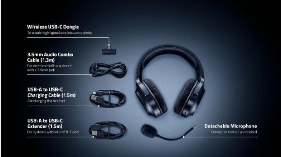 Barracuda X: presentate le nuove cuffie da gaming di Razer