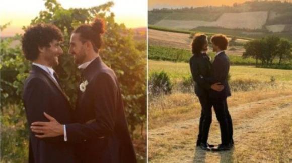 La dolce dedica di Fabrizio Colica al suo neo sposo
