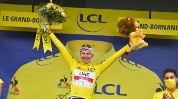 Tour de France: doppietta per Tadej Pogačar, la Grande Boucle è ancora sua