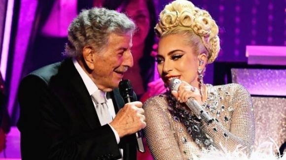Tony Bennett festeggerà il suo 95esimo compleanno con un doppio concerto insieme a Lady Gaga