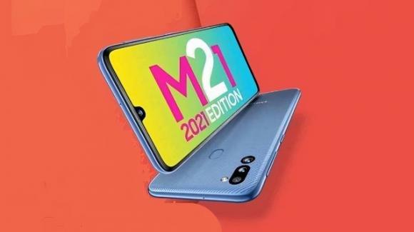 Galaxy M21 2021 Edition: annunciato il nuovo low cost di Samsung