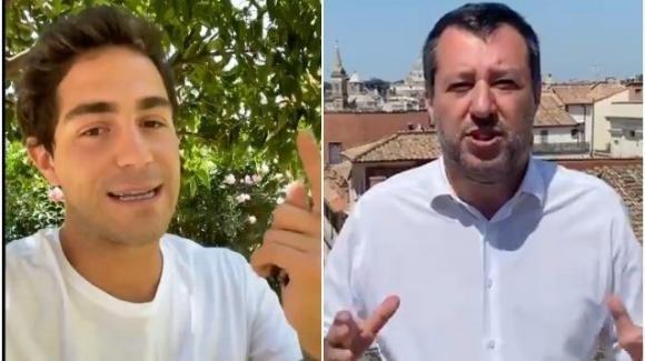 """Tommaso Zorzi attacca apertamente Matteo Salvini: """"Mi fa pena"""""""