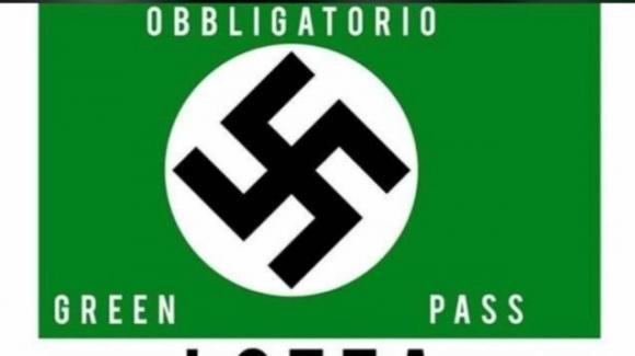 """Roma, i Vigili Urbani: """"Green Pass come il nazismo, nessuno sarà multato"""""""