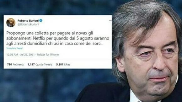 """Codacons contro Roberto Burioni per la frase sui  no vax come """"sorci"""": chiesta radiazione dall'Albo"""