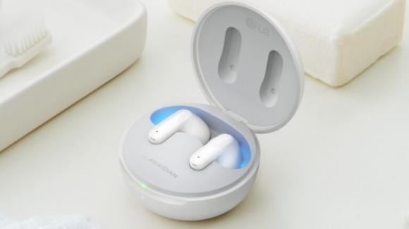 Da LG i nuovi auricolari true wireless della serie TONE Free FP