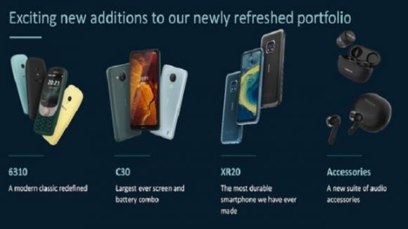 Nokia: valanga di novità con nuovi smartphone, vintage phone e auricolari tws