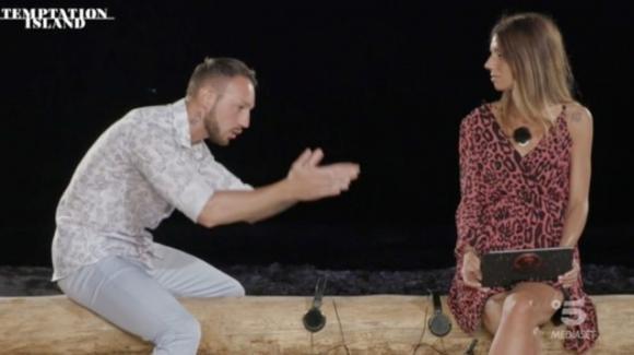 Temptation Island, Alessandro e Jessica si lasciano ed entrambi vanno dai loro tentatori