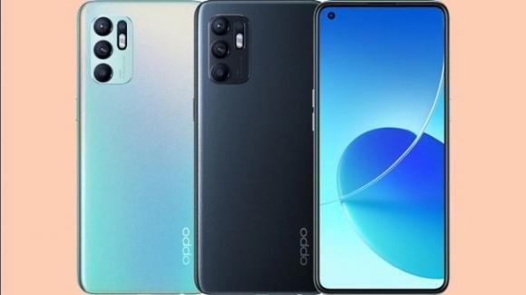 Oppo Reno 6 4G: ufficiale il medio-gamma AMOLED con Android 11