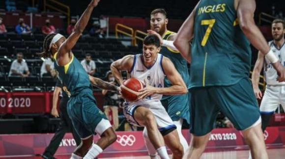 Tokyo 2020, basket: Italia battuta dall'Australia per 83 a 86