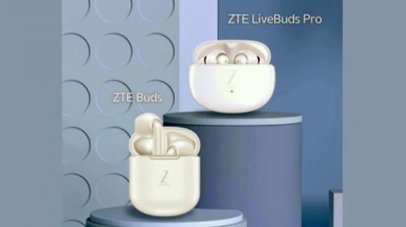 ZTE presenta i nuovi auricolari senza fili Buds e LiveBuds Pro