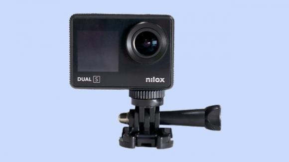 Nilox Dual-S: ufficiale la action camera 4K con dual scren