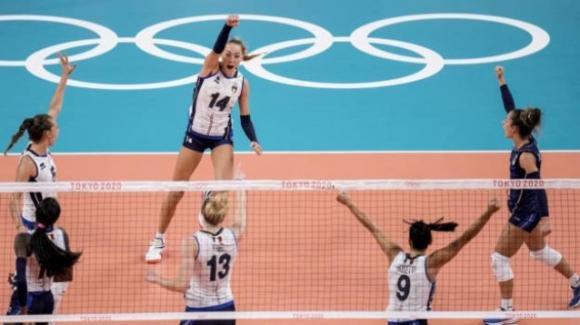 Olimpiadi Tokyo 2020, volley: le azzurre vincono 3-0 contro l'Argentina
