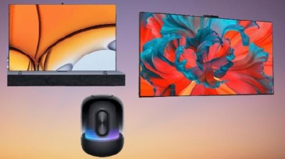 Huawei presente due nuove smart TV e un nuovo e suggestivo smart speaker
