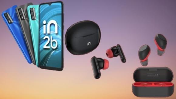 Micromax presenta lo smartphone IN 2b e gli auricolari tws Airfunk 1 Pro e 1