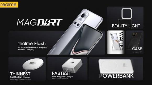 Realme annuncia la tecnologia di ricarica rapida wireless MagDart