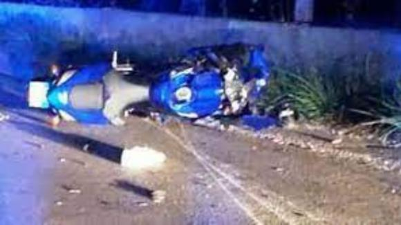 Brindisi, scontro tra auto e moto sulla provinciale: muore un motociclista