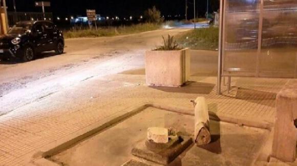 Brindisi, vandali distruggono la fontanina di Torre San Gennaro