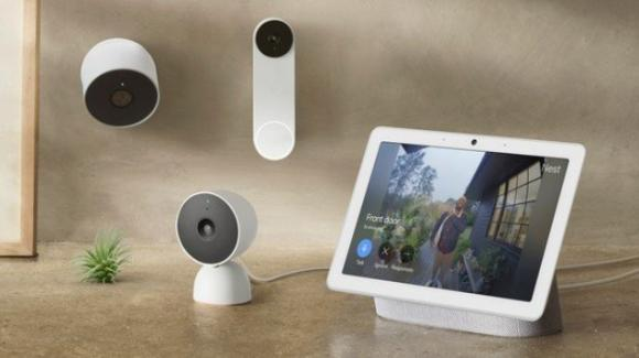 Google presenta i nuovi Nest Cam e Nest Doorbell per la smart home