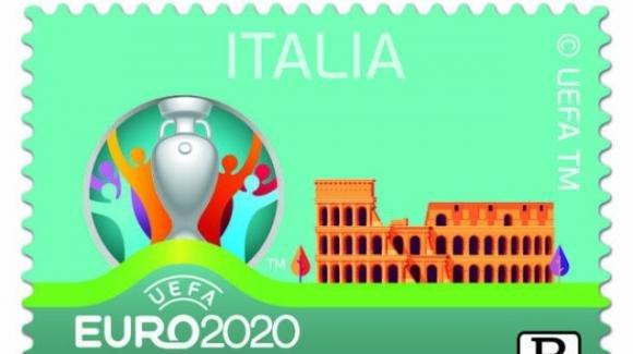 Un francobollo omaggia i campioni d' Europa 2020