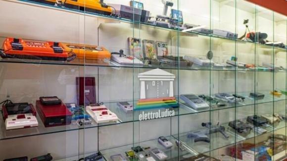 Riuniti in un museo ad Avezzano giochi vintage che riuniscono una generazione
