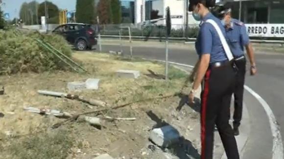 Modena, sbatte con la sua moto contro un palo: muore un giovane pugliese a Sassuolo