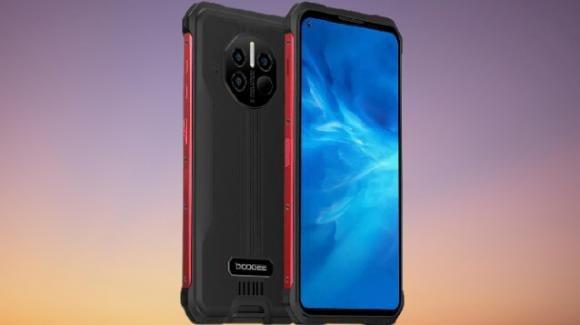 Doogee V10: in arrivo il rugged phone con maxi batteria, 5G e termometro