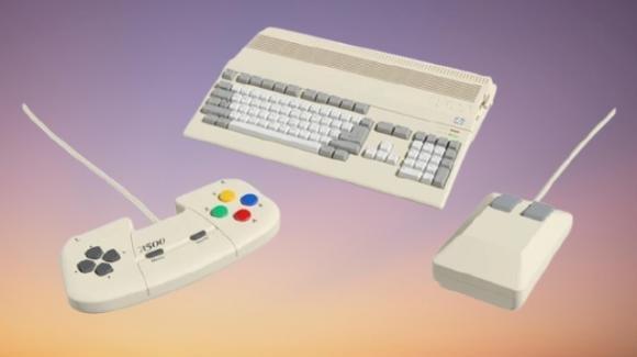 THEA500 Mini: ufficiale la retroconsolle compatta ispirata all'Amiga A500